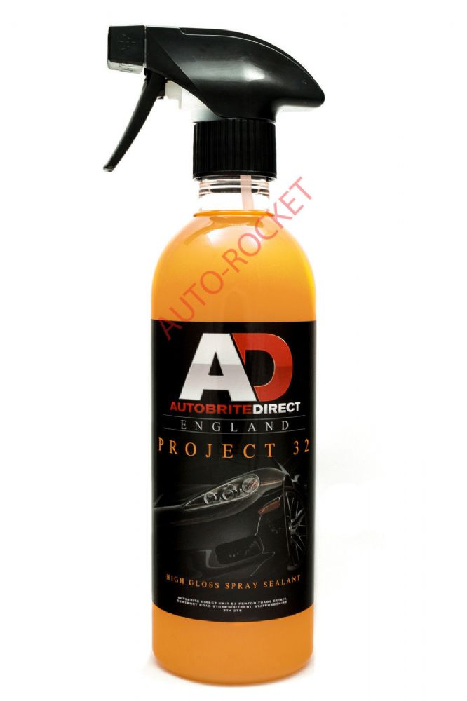 direct project 32 paint sealing gloss enhancing spray sealant 500ml. Black Bedroom Furniture Sets. Home Design Ideas