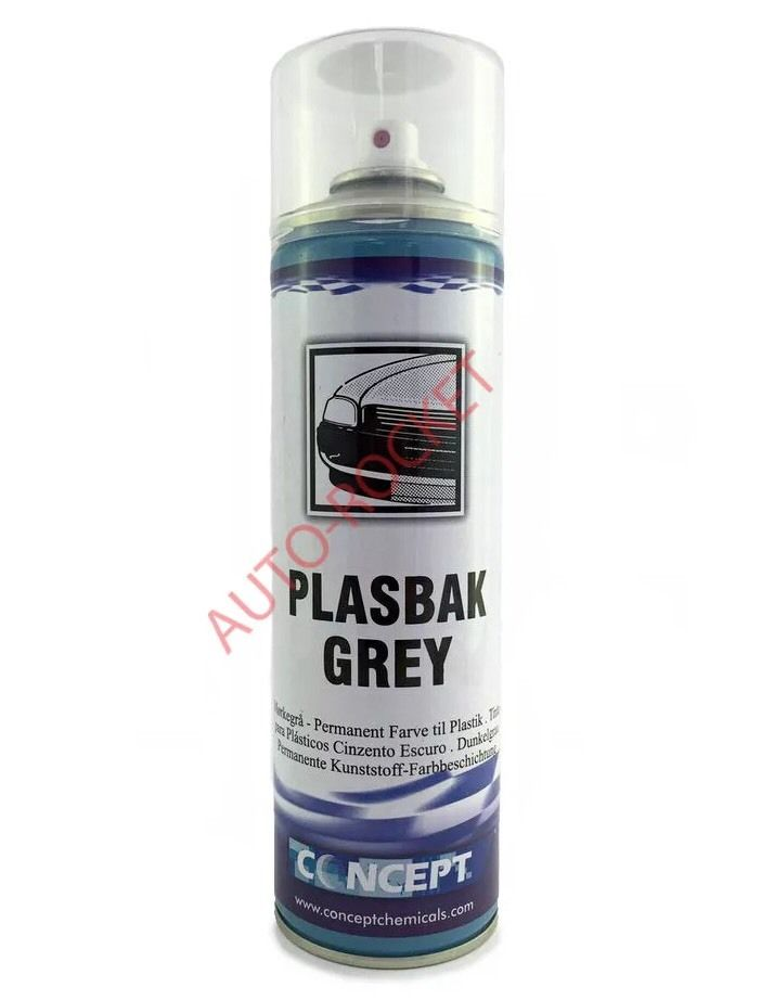 plasbak grey bumper spray paint for faded bumper plastic. Black Bedroom Furniture Sets. Home Design Ideas