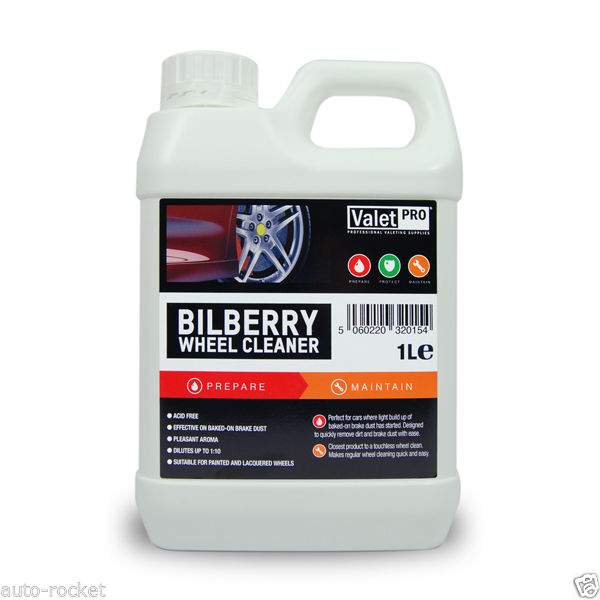 valet pro bilberry wheel cleaner 1 litre. Black Bedroom Furniture Sets. Home Design Ideas