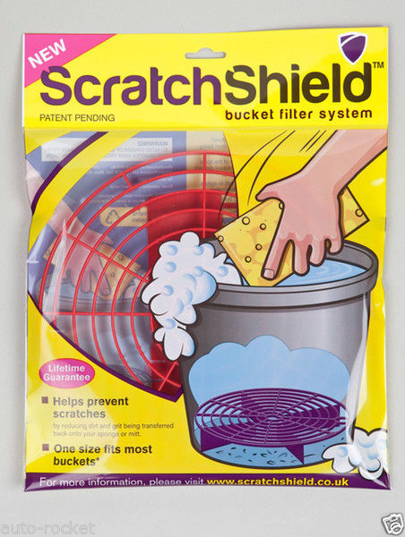 Scratchshield bucket guard - Red